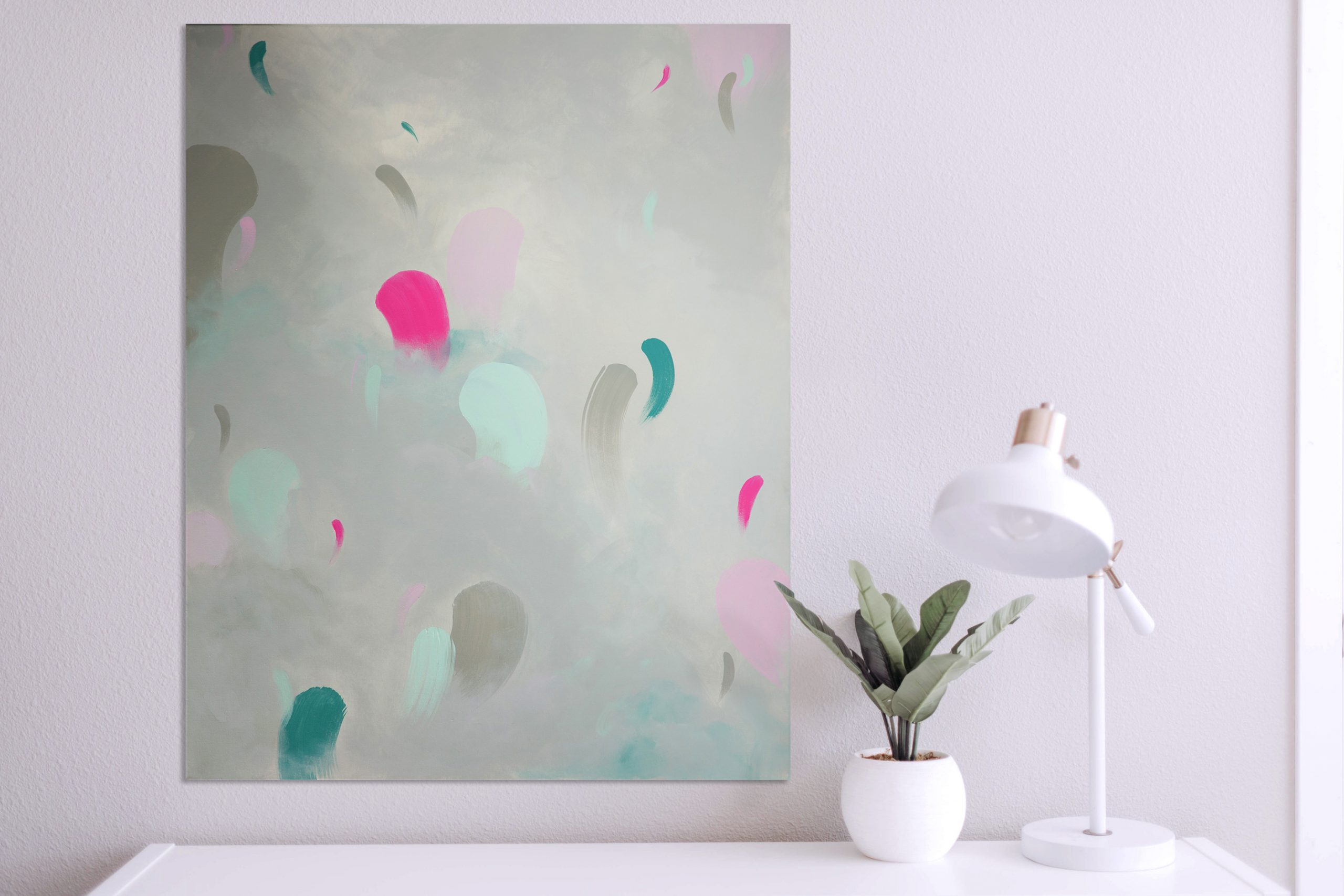 tableau-acrylique-gris-pale-rose
