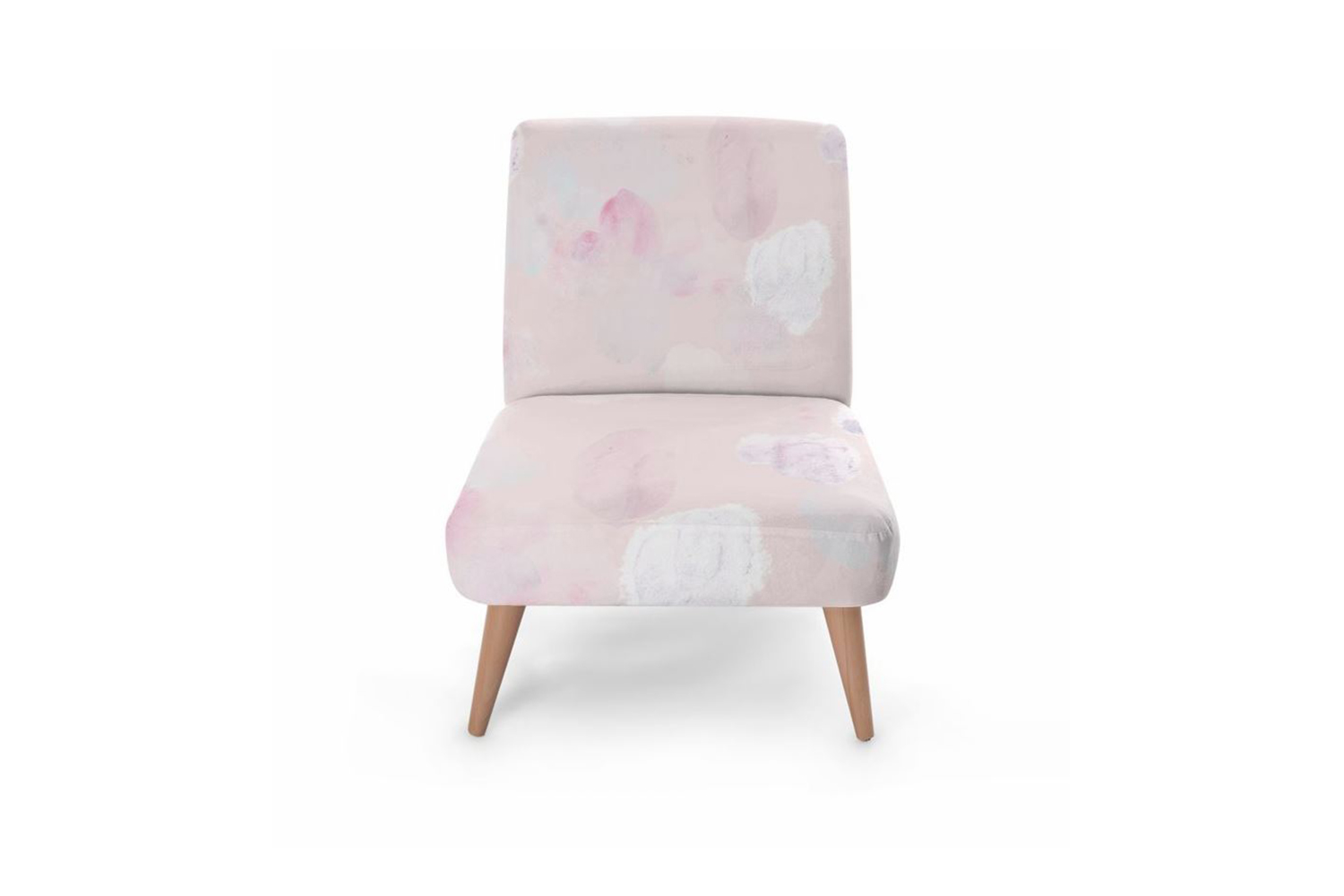 design textile organique pastel