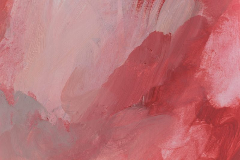 detail peinture rose fushia